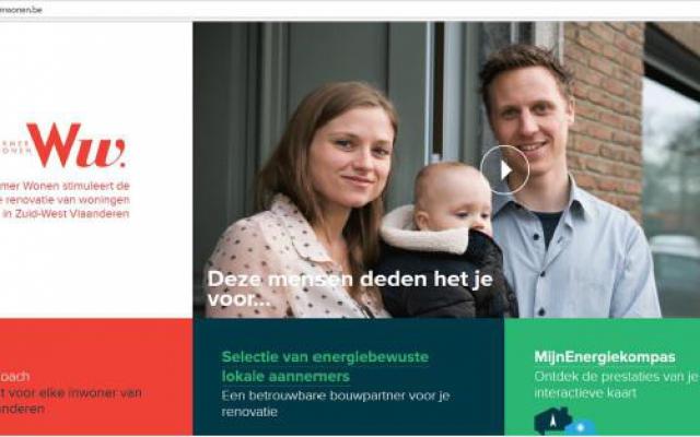 Ecodomo partner van project Warmer Wonen in Zuid-West-Vlaanderen