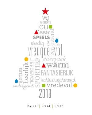 Wij wensen jou een fantastisch 2019!