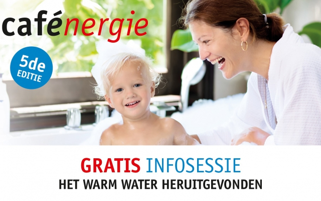 Cafénergie 2019: het warm water heruitgevonden