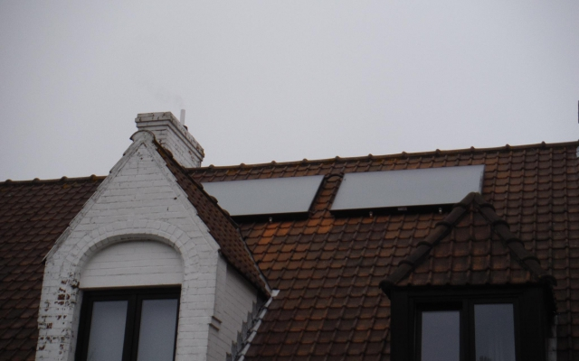 Brugge - zonneboiler Bulex Helioset zonneboiler 250L