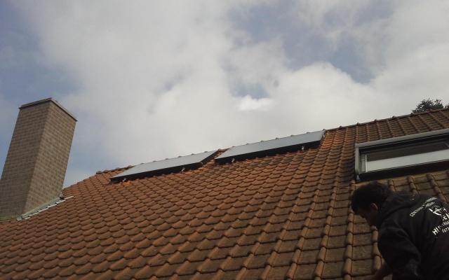 Gent - Bulex zonnecollectoren opbouw zonneboiler 250L