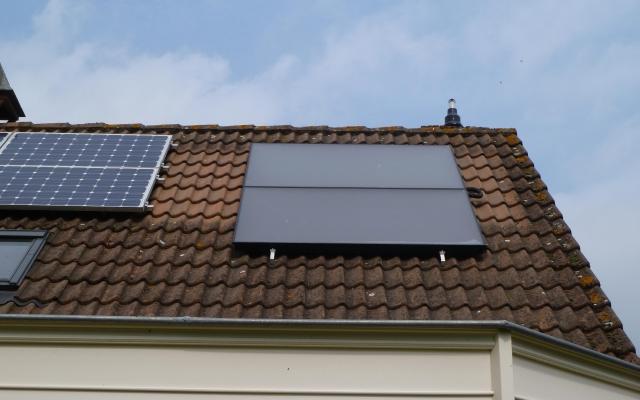 Ronse - zonnepanelen  opbouw zonneboiler Bulex Helioset 250L (3)