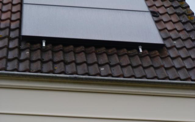 Ronse - zonnepanelen  opbouw zonneboiler Bulex Helioset 250L