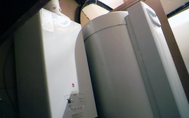 Melle - gascondensatieketel Bulex Thermo Master FAS 29 + Zonneboiler Bulex Helioset 250 L