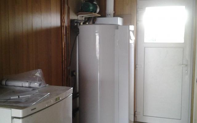 Wevelgem - gascondensatieketel Bulex Thema Condens FAS 25 + Zonneboiler Bulex Helioset 250 L