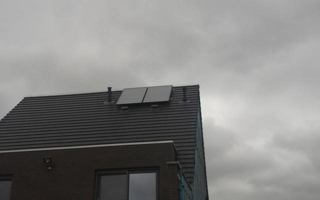 Blankenberge - Zonnecollectoren in combinatie met warmtepompboiler Bulex Magna