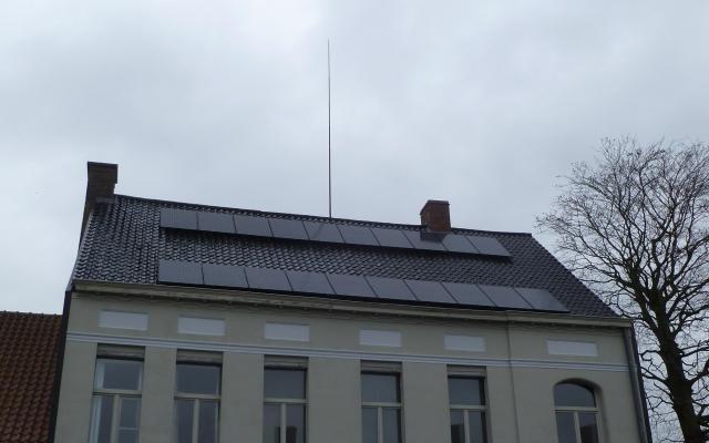 Pittem - 20 zonnepanelen 265 Wp black