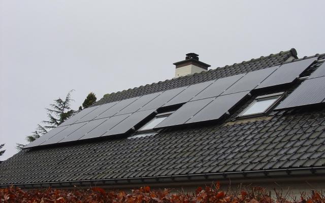 Zottegem - 15 zonnepanelen 270Wp black