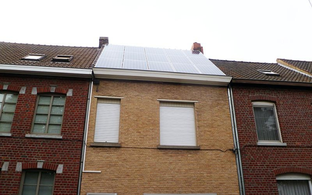 Zwevegem - 15 zonnepanelen 270Wp