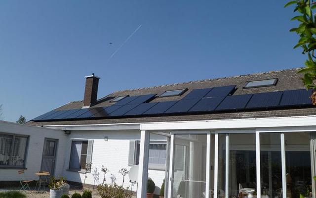 Roeselare – 19 zonnepanelen 265 Wp Black