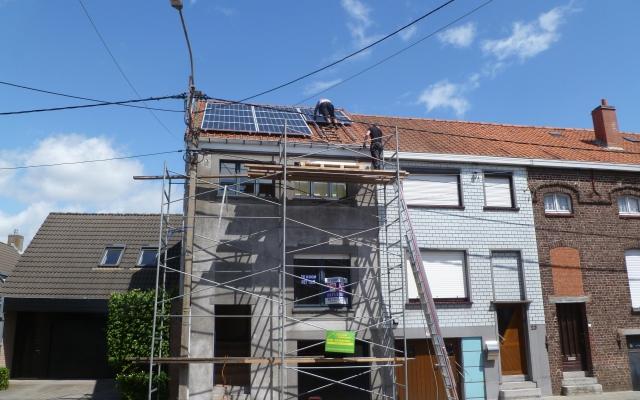 Stasegem - 12 zonnepanelen 250Wp white