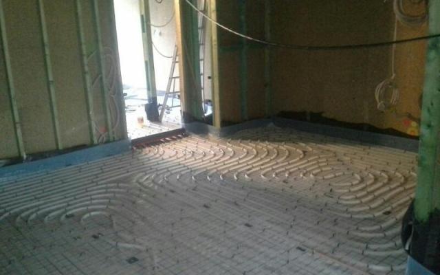 Gent (nieuwbouw) - vloerverwarming 2
